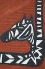 Zebratuer (Ausschnitt)